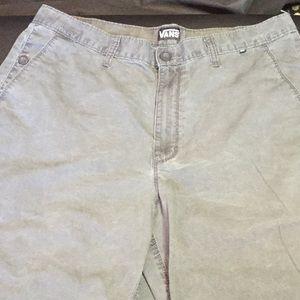 Vans shorts size 36